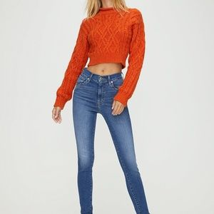 Levis Mile High Super Skinny High Rise Jeans